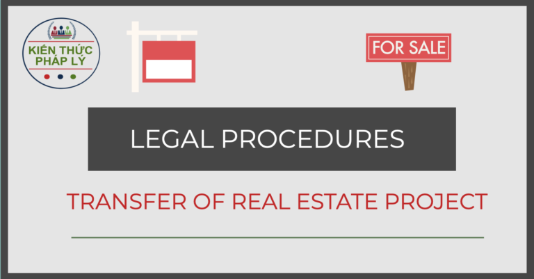 LEGAL PROCEDURES FOR THE TRANSFER OF REAL ESTATE PROJECT
