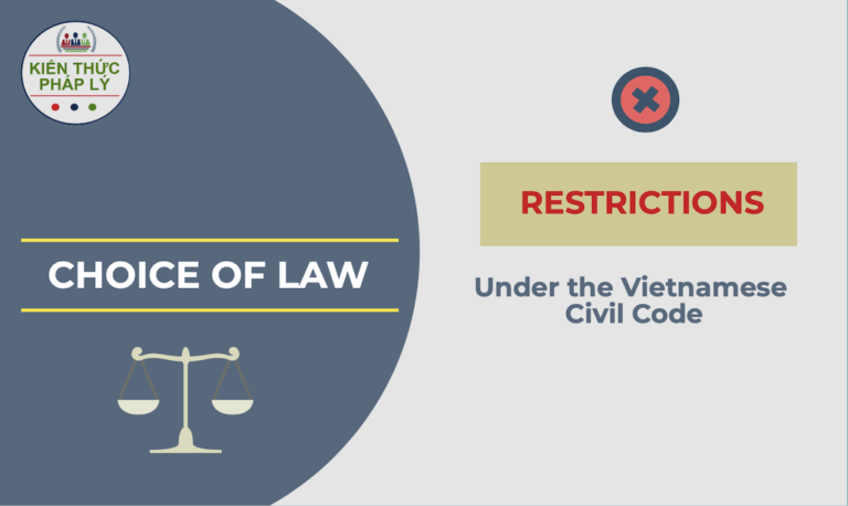 RESTRICTIONS ON THE CHOICE OF LAW UNDER THE VIETNAMESE CIVIL CODE