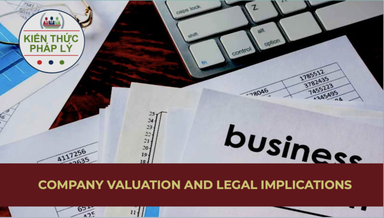 COMPANY EVALUATION AND LEGAL IMPLICATIONS